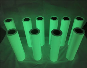 China 50cm*50m Green Color Glow In The Dark Printer Paper For Apparel / Shoes supplier