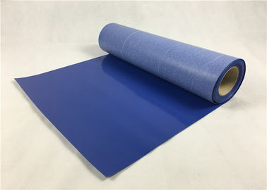 Royal Blue 3D Heat Transfer Vinyl , 50cm*5m Matte Heat Transfer Vinyl