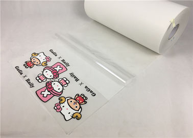 50cm*50m Heat Transfer Application Tape , Transparent Application Tape For Printable Flock